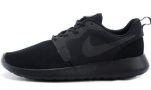 Nike Roshe Run Hyperfuse QS черные 35-45