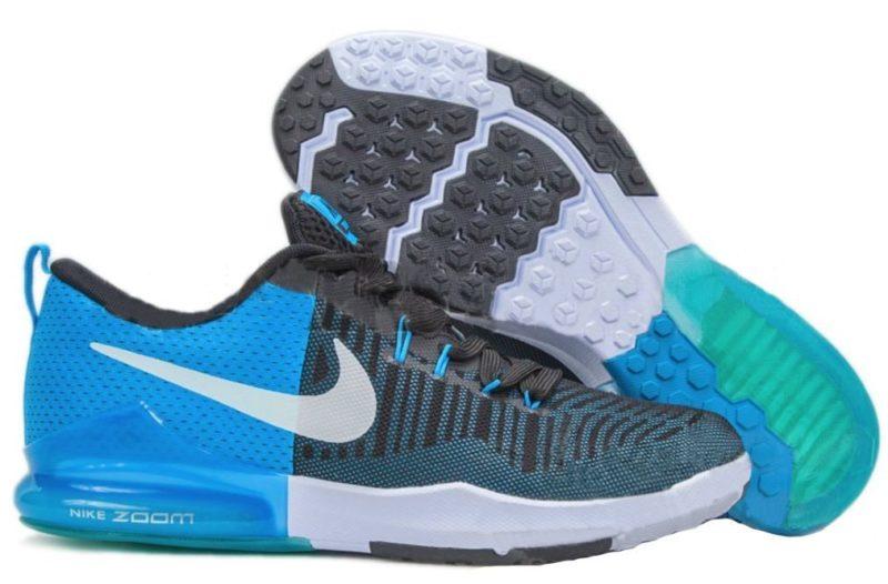 Nike Zoom Train Action синие с голубым (40-44)