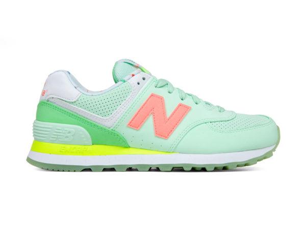 Бирюзовые кроссовки New Balance