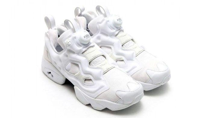 Reebok Insta Pump Fury «Triple White» белые (35-44)