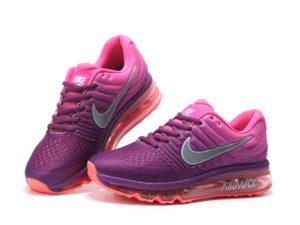 Nike Air Max 2017 розово-фиолетовые (35-39)