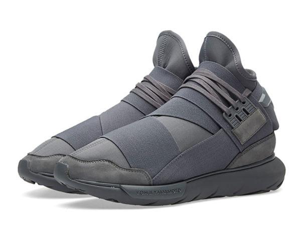 Adidas Y-3 Qasa High серые (39-44)