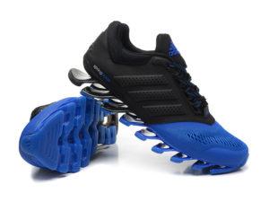 Adidas Springblade сине-черные (40-45). Адидас Спрингдблейд.