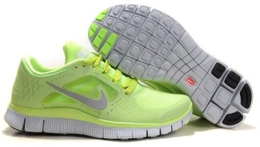 Nike Free Run салатовые (35-40)