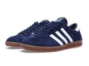 Adidas Hamburg blue синие с белым (40-44)