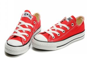 Converse All Star low red красные (35-40). Конверс Ол Стар