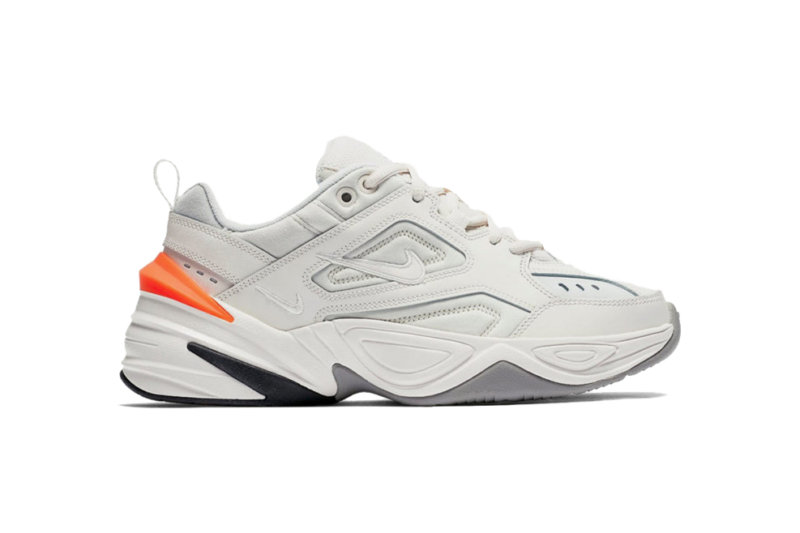 Nike m2k tekno white белые с оранжевым 35-44