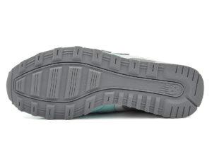 New Balance 996 замша-сетка бирюзовые с серым (36-40)