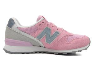 New Balance 996 замша-сетка розовые с серым (35-40)