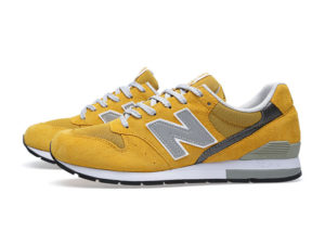 Кроссовки New Balance 996 желтые с серым (40-44)