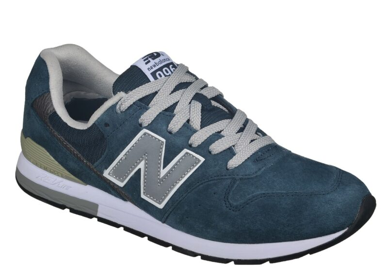 Кроссовки New Balance 996 темно-синие с серым (40-45)