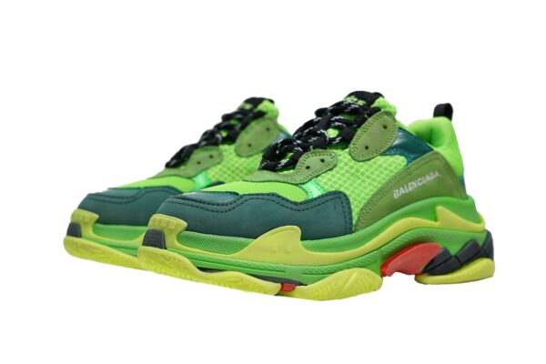 Balenciaga Triple S Green/Yellow женские  (35-39)