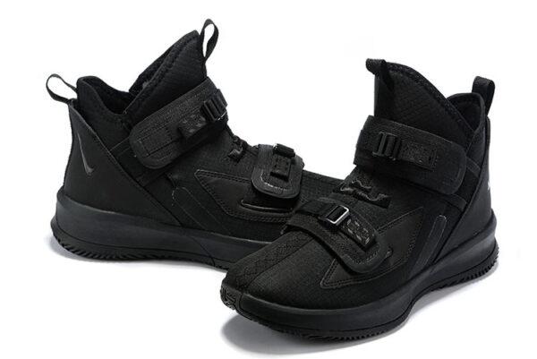 Nike LeBron Soldier 13 черные  нейлон (40-46)