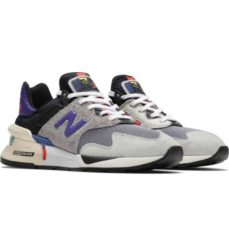 New Balance 997.5 серые с фиолетовым (35-44)