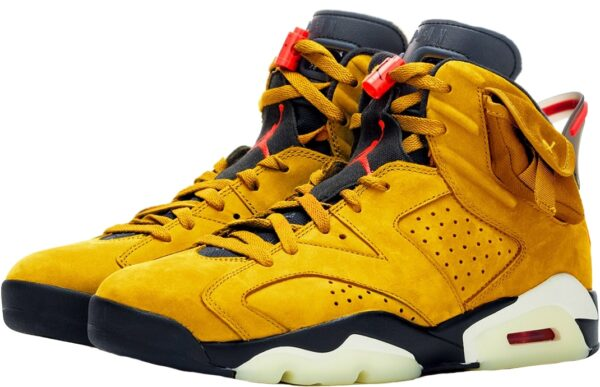 Nike Air Jordan 6 Travis Scott желтые (40-44)