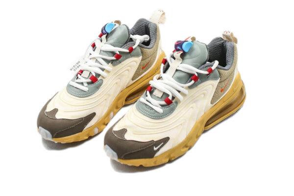 "Nike Air Max 270 React ""Travis Scott"" бежевые с коричневым (35-44)"