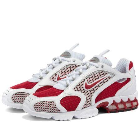 Nike Air Zoom Spiridon Caged 2 бело-красные (35-44)
