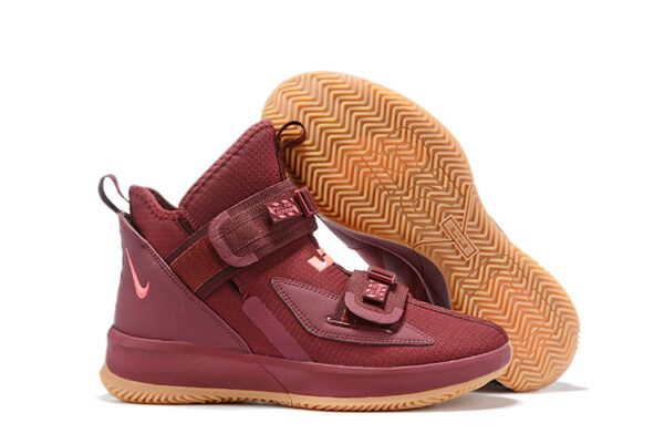 Nike LeBron Soldier 13 бордовые (40-45)