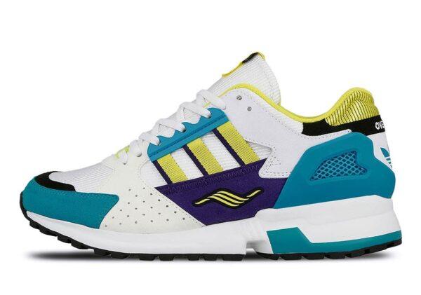 Желтые кроссовки Adidas