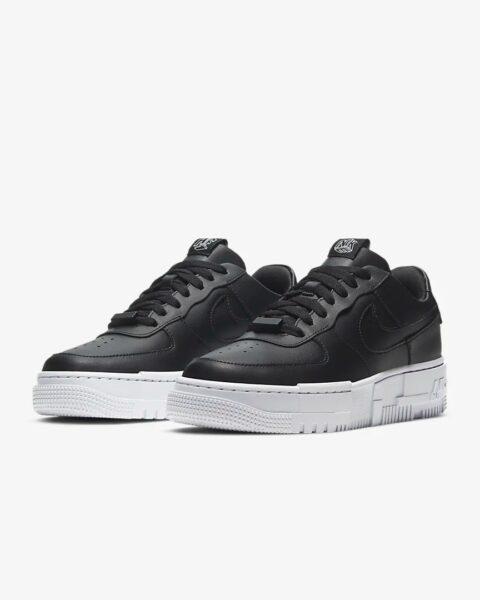 Nike Air Force 1 Low Pixel Triple черные (35-44)